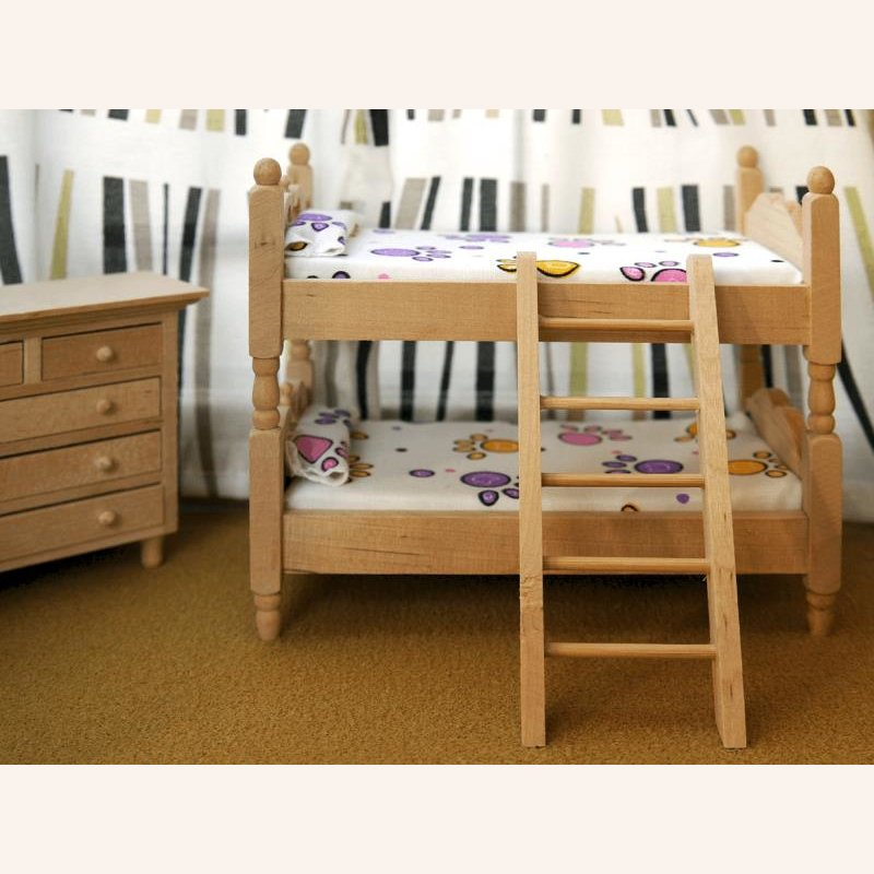 kinderzimmer 4tlg holz im dresdner puppenhaus 27 50. Black Bedroom Furniture Sets. Home Design Ideas