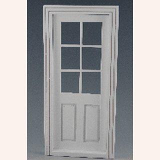 Tür glas  Weiße Tür mit Glas im Dresdner Puppenhaus, 15,00 €