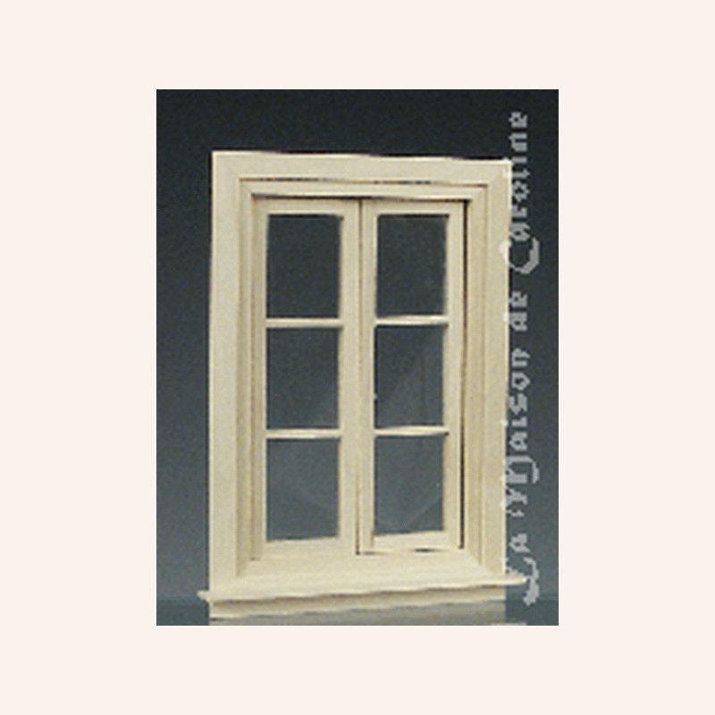 Fenster mit unterteilungen im dresdner puppenhaus 9 70 - Puppenhaus fenster ...
