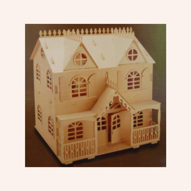 Victorian cottage puppenhausbau set im dresdner for Puppenhaus beleuchtung set