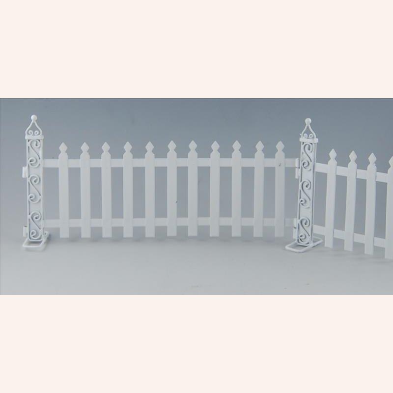 gartenzaun aus metall im dresdner puppenhaus 19 99. Black Bedroom Furniture Sets. Home Design Ideas