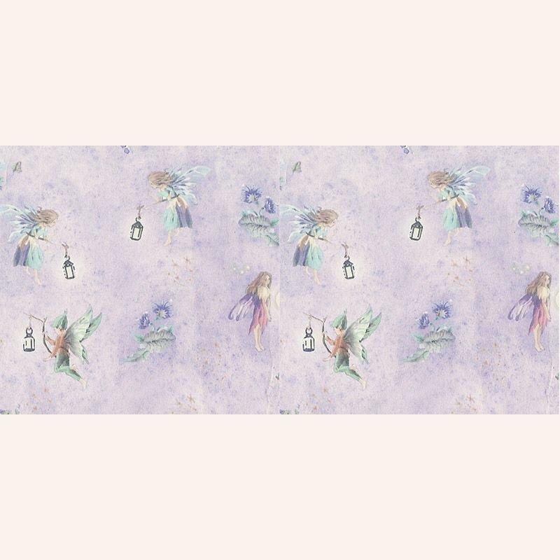 Tapete violett feen im dresdner puppenhaus 3 50 for Tapete violett