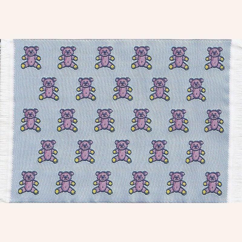 Teppich Blau mit Bären im Dresdner Puppenhaus, 4,