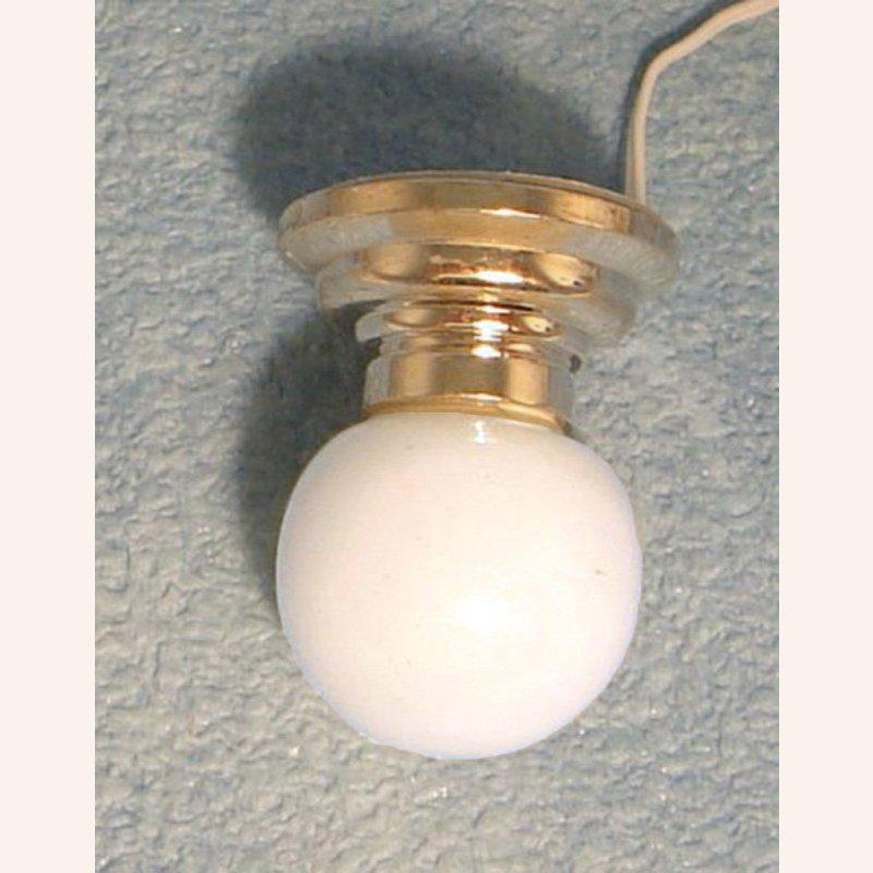 Deckenlampe kugelschirm im dresdner puppenhaus 7 90 - Deckenlampe arbeitszimmer ...