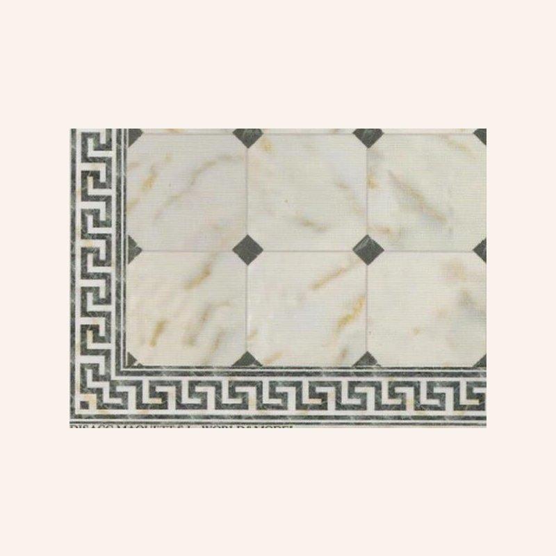 marmorfliesen mit rhomben im dresdner puppenhaus 6 90. Black Bedroom Furniture Sets. Home Design Ideas