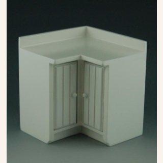 k chenelement eckschrank wei im dresdner puppenhaus 12 90. Black Bedroom Furniture Sets. Home Design Ideas