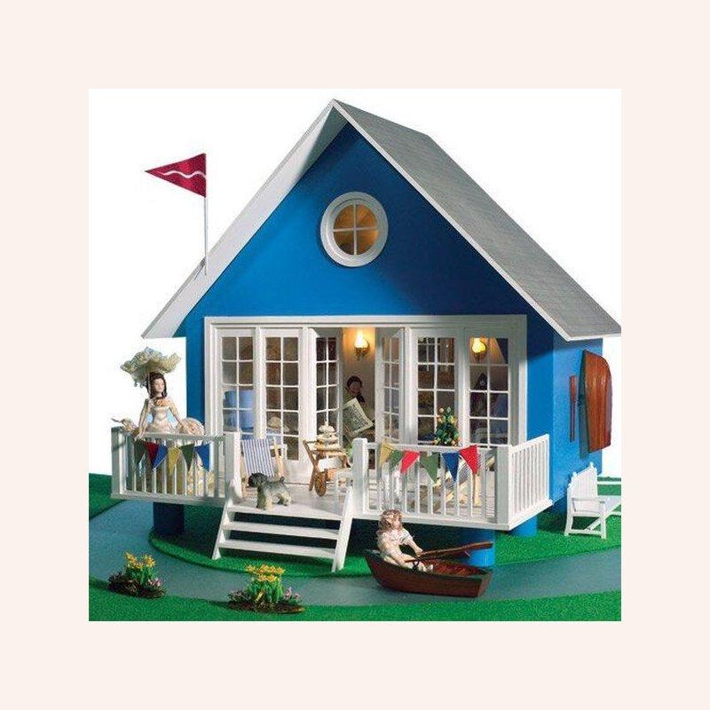Strandhaus kleines puppenhaus im dresdner puppenhaus 89 90 - Kleines strandhaus ...