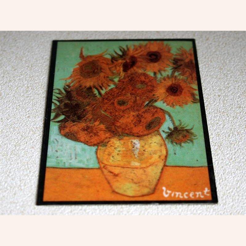 Bild Sonnenblumen, ohne Rahmen im Dresdner Puppenhaus, 5,99 €