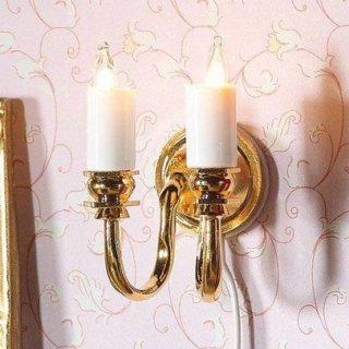 wandlampe mit 2 kerzen im dresdner puppenhaus 15 99. Black Bedroom Furniture Sets. Home Design Ideas