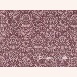tapete damask lila mit muster papier - Bastelpapier Muster