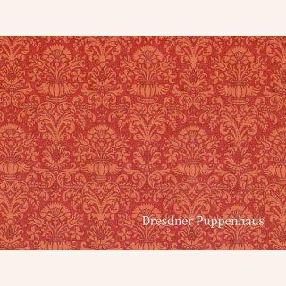 tapete damask rot mit muster papier - Bastelpapier Muster